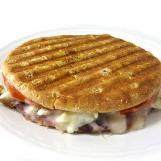 Skinny Grilled Cheese and Scrambled Egg Whites Breakfast Sandwich.