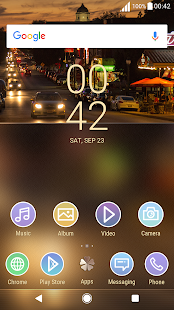 Theme XPERIA ON™ | Be Brown Lollipop - náhled