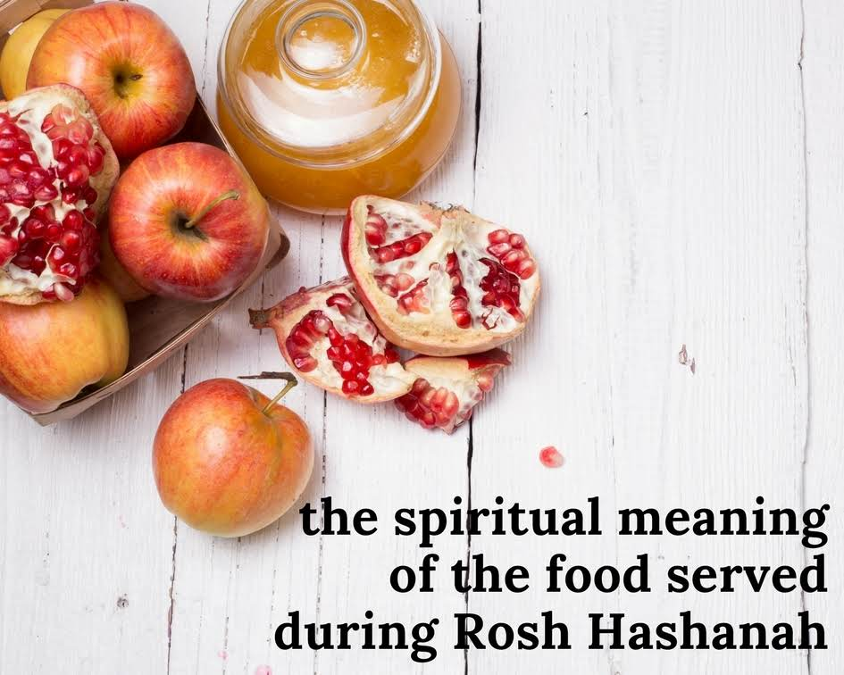 The Spiritual Meaning Of The Food Served During Rosh Hashanah Just