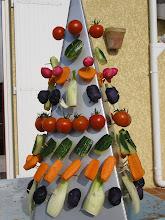 Photo: arbre à légumes