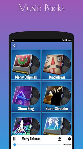 Emotes Ringtones And Daily Shop for Battle Royale screenshot 6