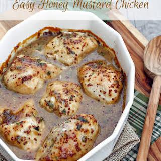 Easy Honey Mustard Chicken.