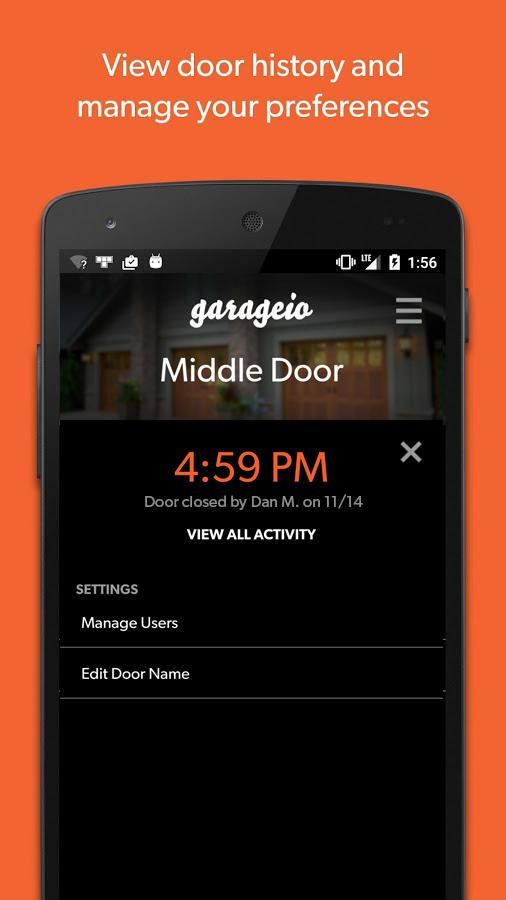 Garageio: Automate your Garage- screenshot