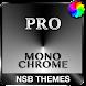 MonoChrome Pro - Xperiaのテーマ