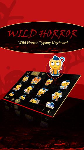 mod Wild Horror Theme Keyboard 4.5 screenshots 3