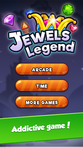 Jewel Game with Levels and Diamond Crush game (apk) free download for Android/PC/Windows screenshot