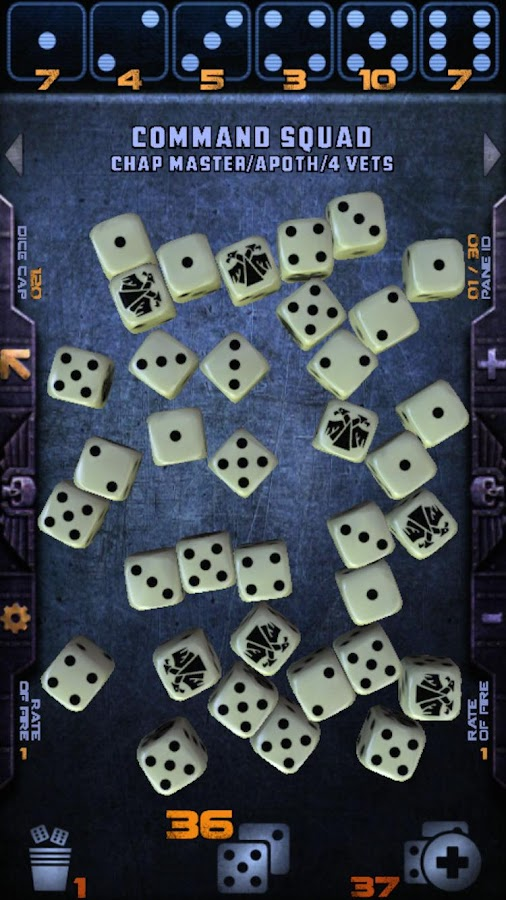 Warhammer 40,000: Assault Dice- screenshot