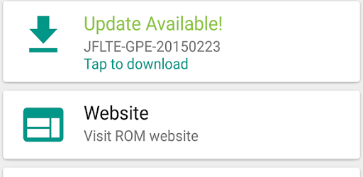 OTA Updates [ROOT][CUSTOM ROM] - Apps on Google Play