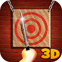 Throwing Knives Tournament 3D icon