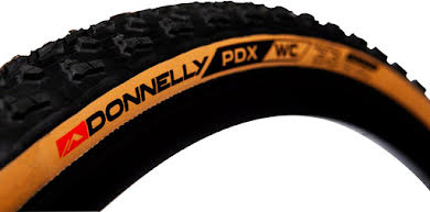 Donnelly Sports PDX WC Tire - 700 x 33, Tubeless, Folding, Black/Tan, 240tpi alternate image 0