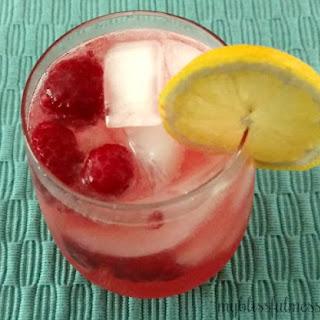 Raspberry Lemonade Sparkler.