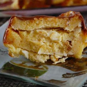 Dulce de Leche Pound Cake Pudding
