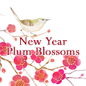Beautiful Wallpaper New Year Plum Blossoms Theme icon
