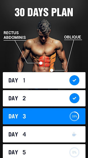 Six Pack in 30 Days - Abs Workout 1.0.29 Screenshots 2