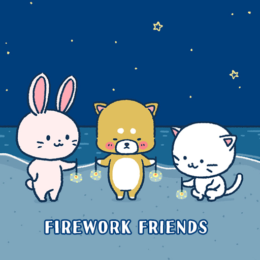 Cute Wallpaper Firework Friends Theme Icon