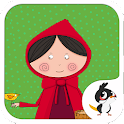 Little Red Hood Cute Fairytale icon