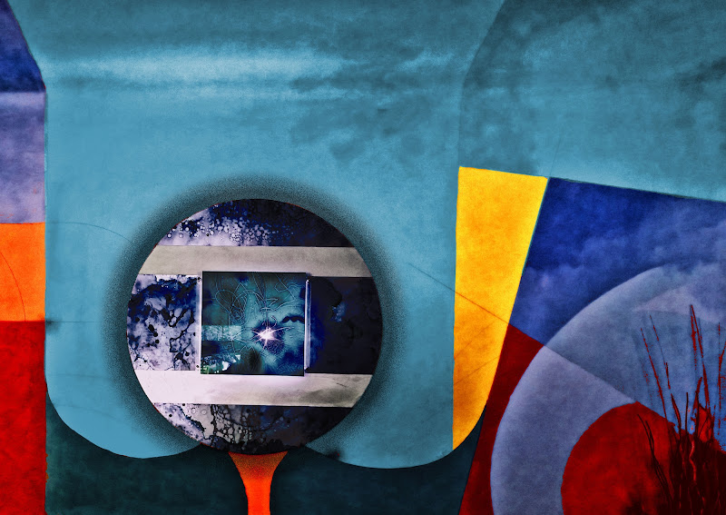 Dreaming Kandinsky: colors and forms - the wall di mt antona