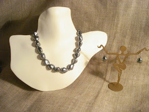 Photo: <BEREHYNYA> {Great Goddess Protectress} unique one-of-a-kind statement jewellery by Luba Bilash ART & ADORNMENT  Pearls, 14K gold vermeil NFS  http://www.wikihow.com/Clean-A-Pearl-Necklace