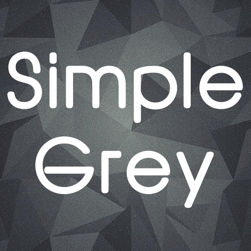 Simple Grey Business 商業 App LOGO-硬是要APP