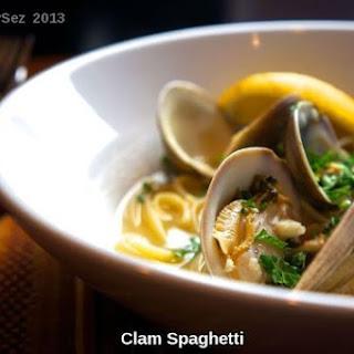 Spaghetti Clams Recipes
