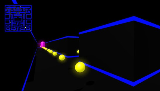 Pacman3D 1st Person- screenshot thumbnail