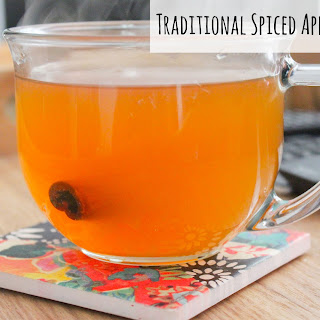 Traditional Spiced Apple Cider.
