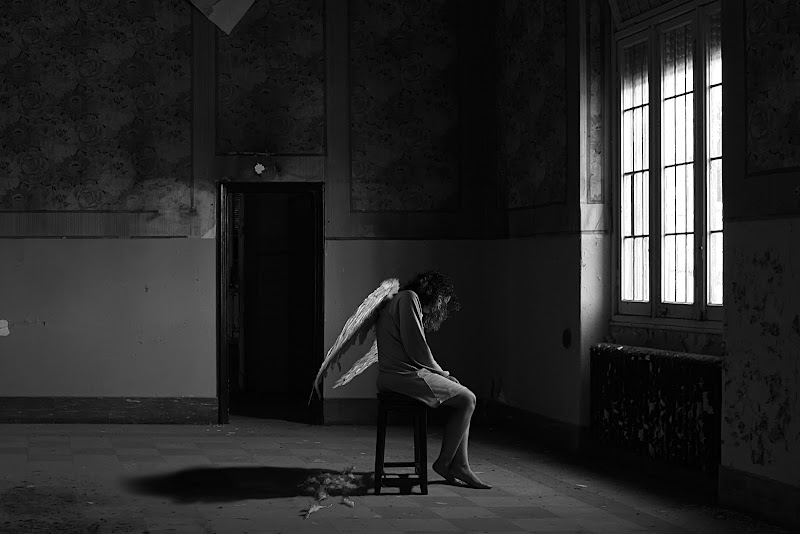 L'angelo abbandonato di Dariagufo
