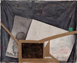 Photo: Memoria externa 02. 2014 óleo sobre tela 157 x 194 cm
