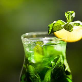 Syrian Mint Lemonade.