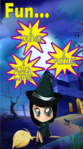 Witch Games for Kids: Bubbles