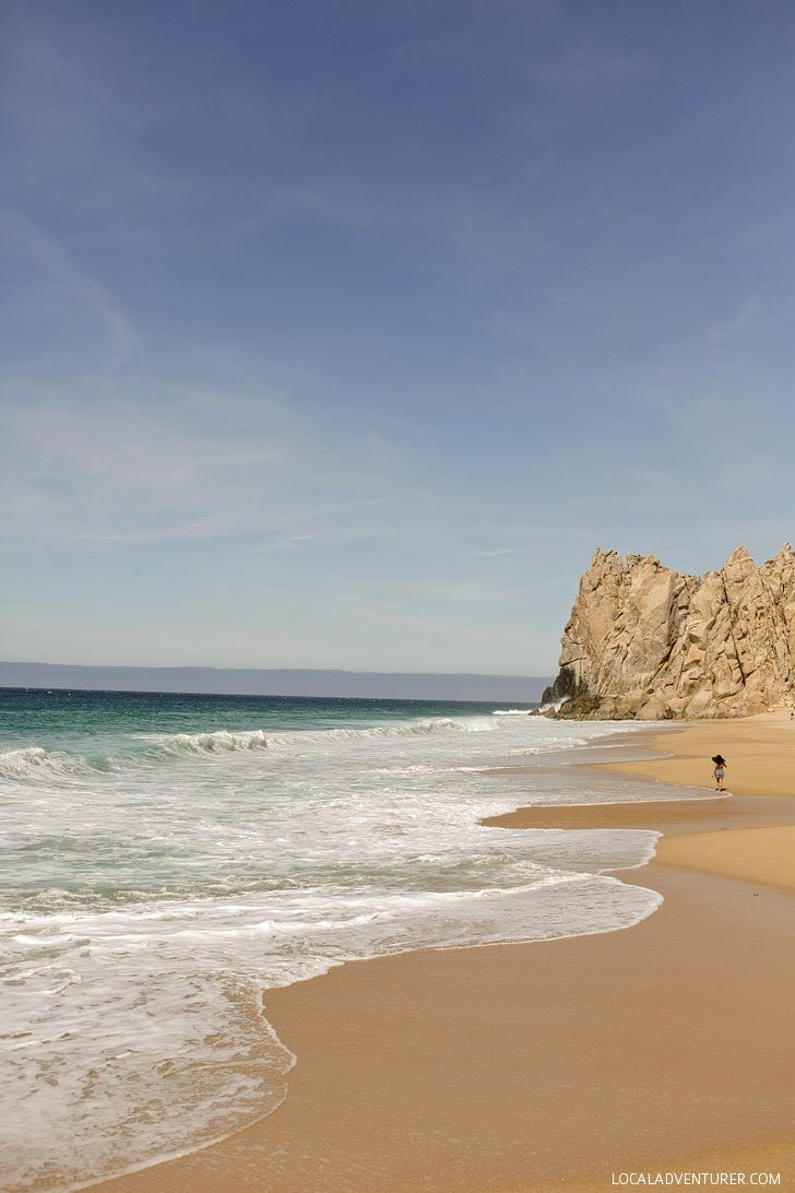 Divorce Beach Cabo San Lucas Mexico.