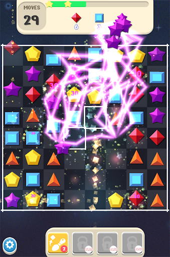 Jewels Space Pop : Magic Match3 Puzzle - screenshot