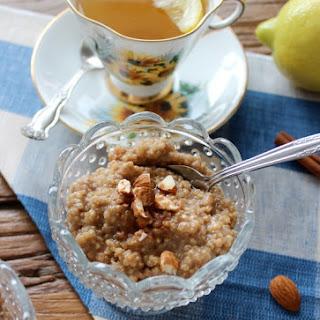 Coconut Quinoa Breakfast Pudding
