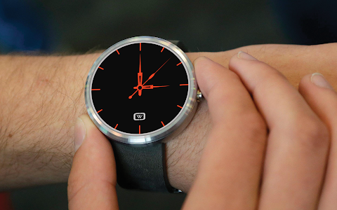Decent Black for Moto 360 screenshot 2