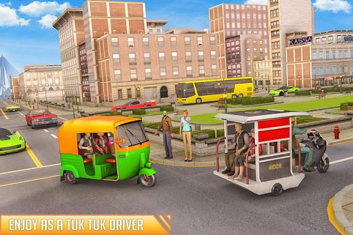 City Auto Rickshaw Tuk Tuk Driver 2019 0.1 screenshots 1