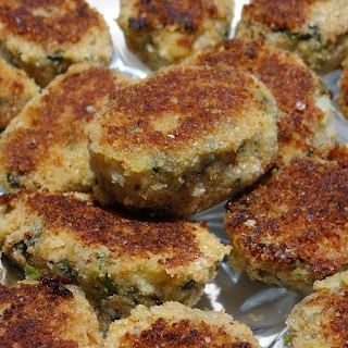 Spinach and Kale Tuna Cakes.