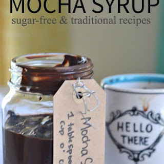 Mocha Syrup Recipes