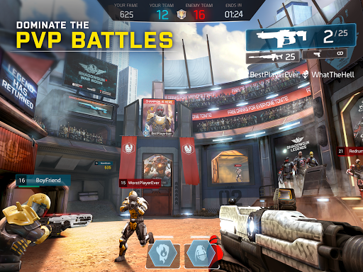 SHADOWGUN LEGENDS 0.5.4 gameplay | by HackJr.Pw 12