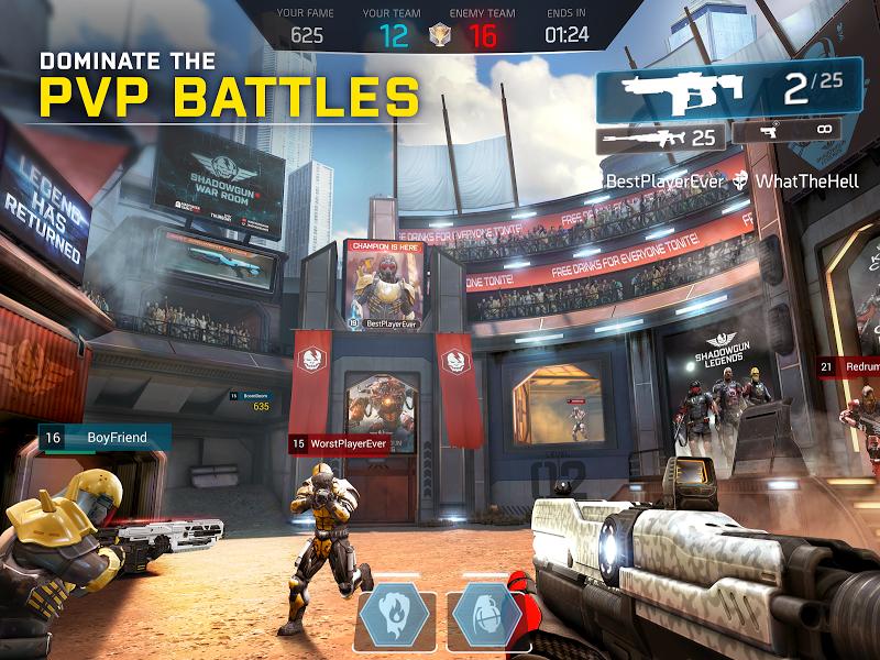 SHADOWGUN LEGENDS: Multiplayer FPS Shooting game Screenshot 11