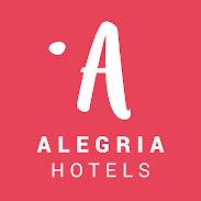 Logo Alegría Hotels.