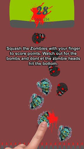 Zombie Games: Zombie Squash