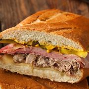 Cubano Hot Ciabatta Sandwich