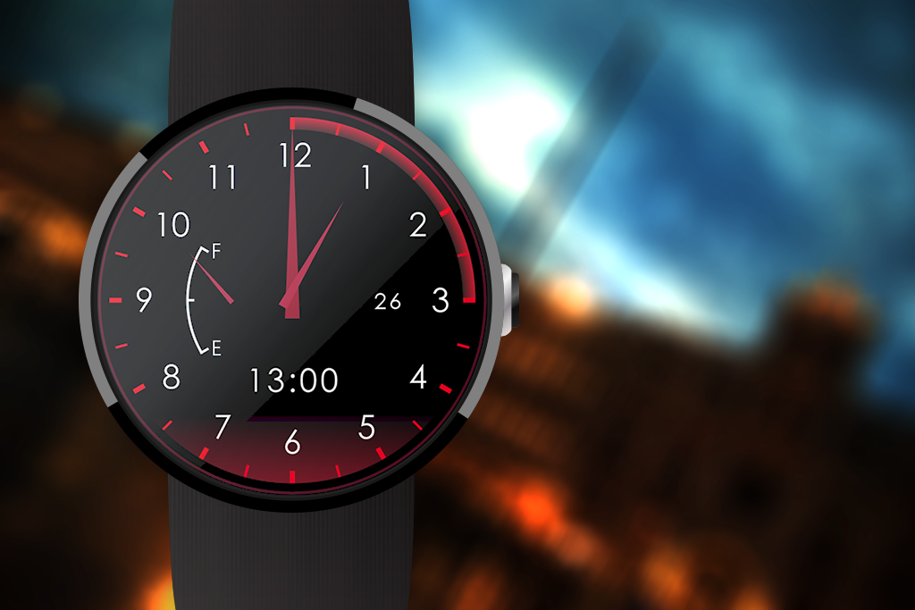 Speedometer Watch Face- screenshot