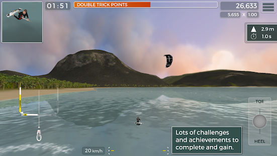 Kiteboard Hero Screenshot