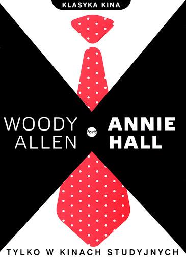 Przód ulotki filmu 'Annie Hall'