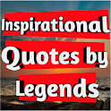 Inspirational Quotes by legends icon