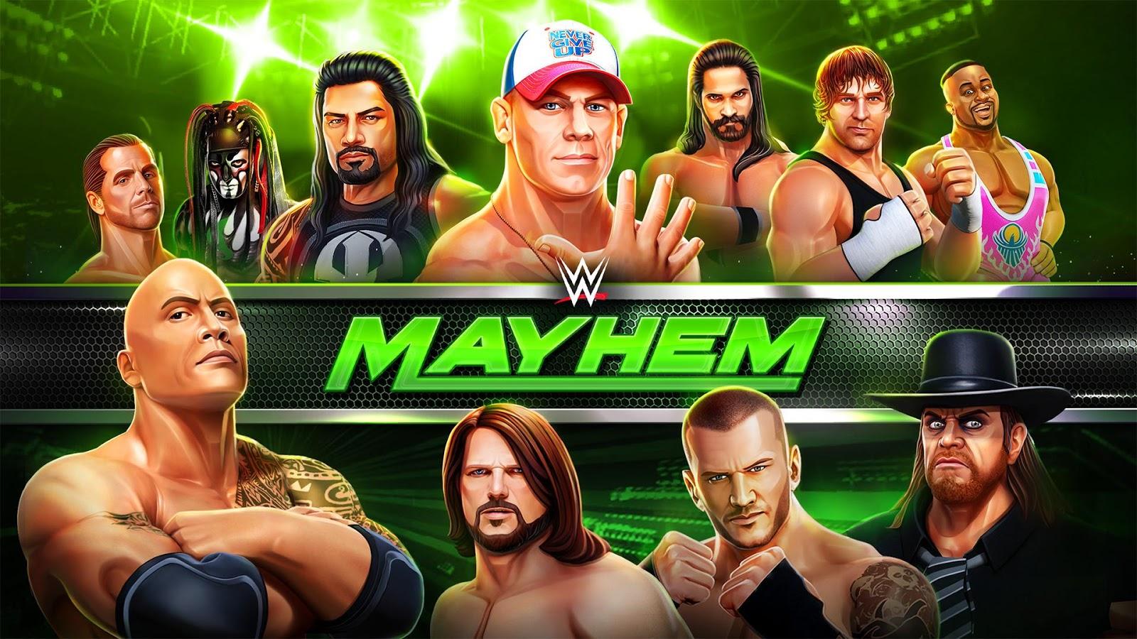 WWE Mayhem – zrzut ekranu