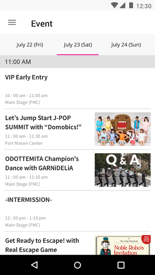 J-POP SUMMIT 2016- screenshot