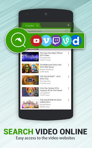 Dolphin Video - Flash Player For Android 1.3 screenshots 2