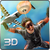 Sky Dive Airplane Simulator 3D